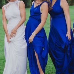 Royal Blue Maxi Infinity Dress